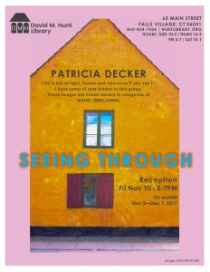 Patricia Decker Seeing Through Art Exhibit