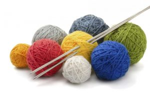 Knitting at the Hunt