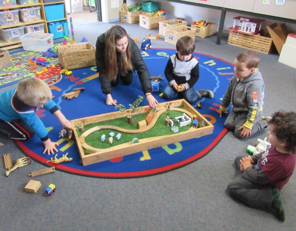 Cooperative play