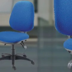 Edo Posture Chair Molded Plywood Office Chairs Huntoffice Ie Ireland High Back Operator With Height Seat Angle Adjustment Blue