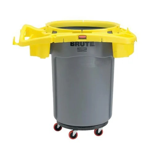 Rubbermaid Brute Deluxe Rim Cleaning Cleaning Trolley Cart