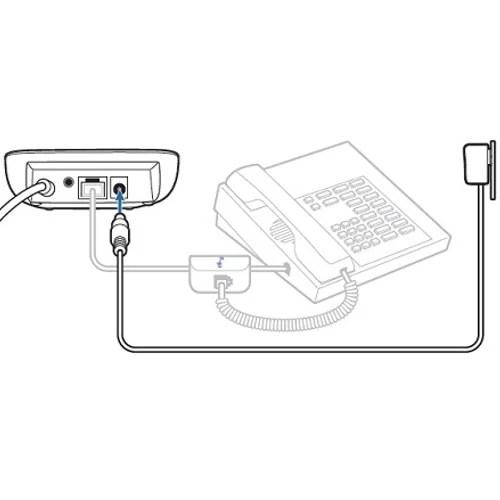 Plantronics Telephone/Multimedia HUB MDA220 Switch For