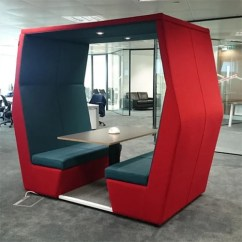 Table Height High Chair 30 Second Stand Results Meeting Pod Bill 4 Seater Red - Huntoffice.ie