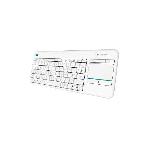 Logitech K400 Plus Keyboard Wireless Connectivity RF White