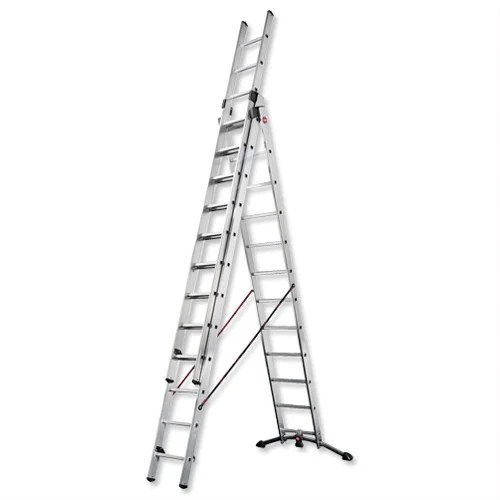 Combi Ladder 3 Section Capacity 150kg Rungs 3x12 for H9