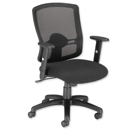 chair for office use mainstays table and set influx mesh task operator with arms black huntoffice ie height adjustable perfect