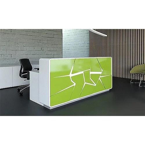 Arctic Summer Modern Design Illuminated Reception Desk