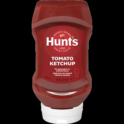 ketchup and bbq sauce