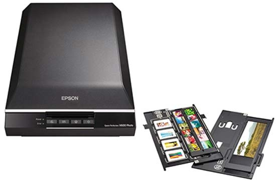 Photo Scanners Epson Perfection V600 Photo Scanner at