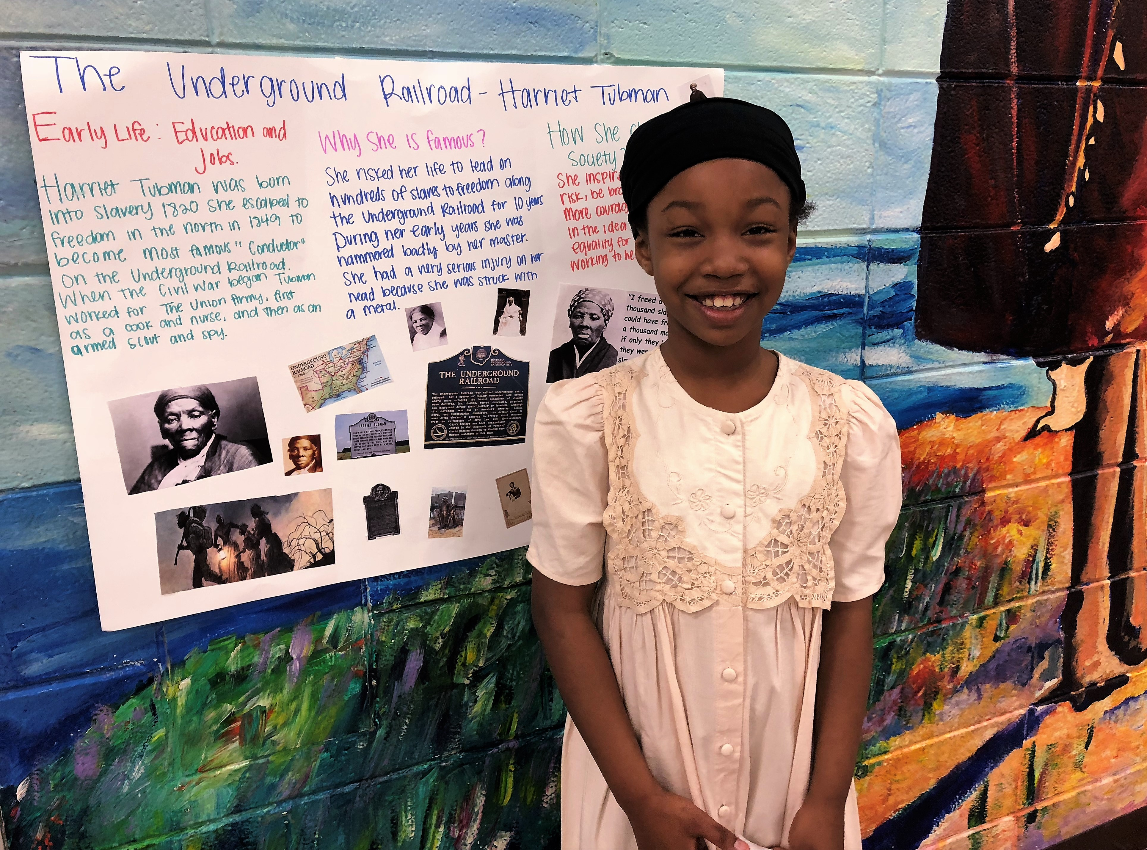 Black History Wax Museum By Miss Hughes 3rd Graders