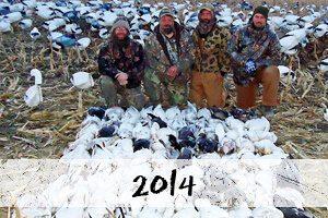 2014 snow goose hunt photos