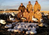 Another group of fathers and sons but this time on our South Dakota snow goose hunts.