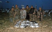 We consider an average snow goose hunt to range from 10-30 snow geese in a days hunt.