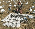 Missouri Spring Snow Goose Hunt 2014