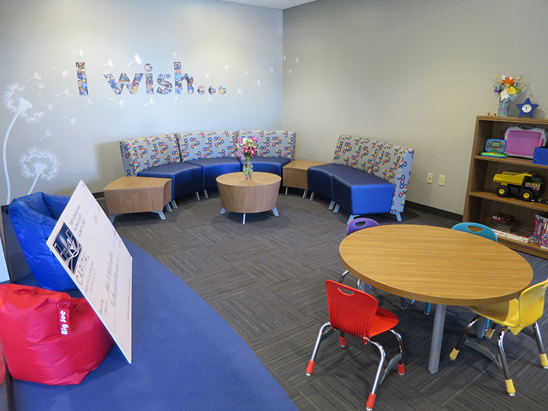 Make-A-Wish Wisconsin Family Room