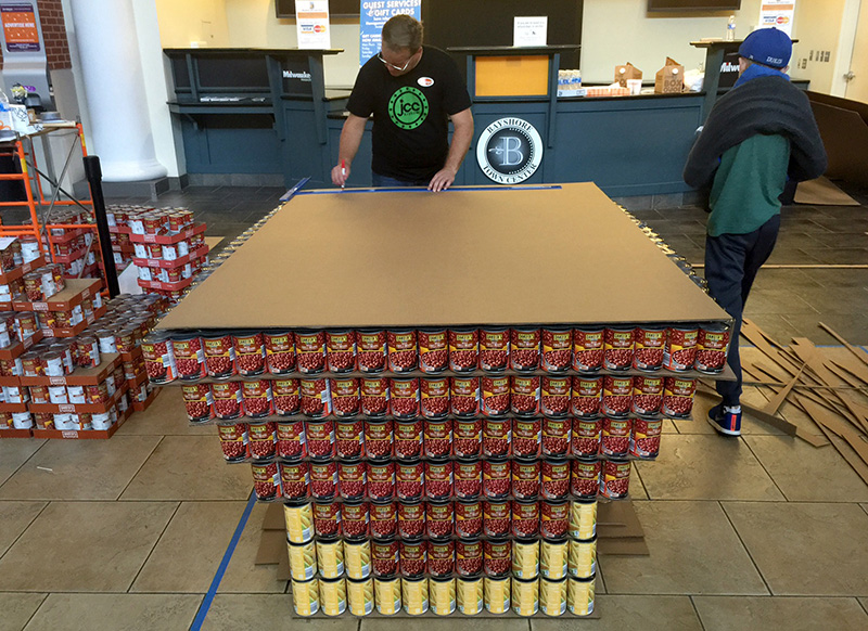 Canstruction_Progress1