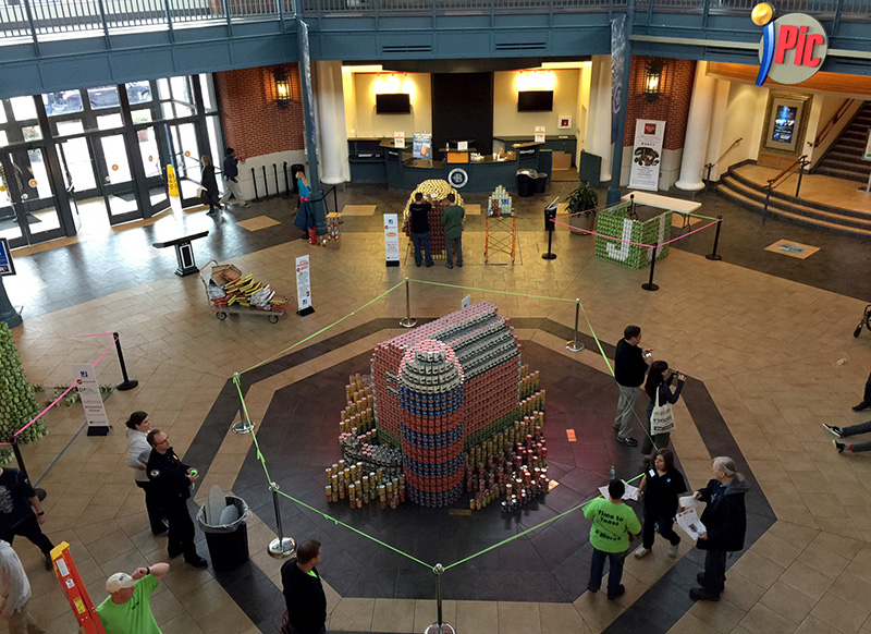 Canstruction_Progress3