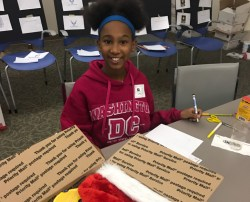 Big Brothers Big Sisters and Hunzinger Celebrate Veterans Day with Troop Shipment