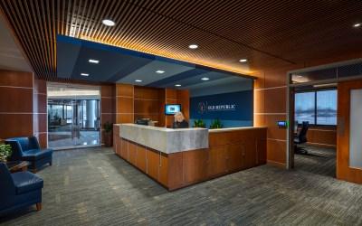 Hunzinger Completes Old Republic Risk Management Interior Renovation