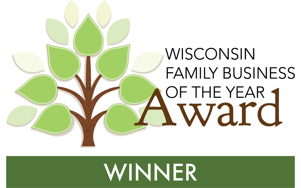 Hunzinger Construction Company Wins 2019 Wisconsin Family Business of the Year Award