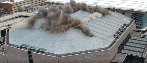 The BMO Harris Bradley Center Demolition