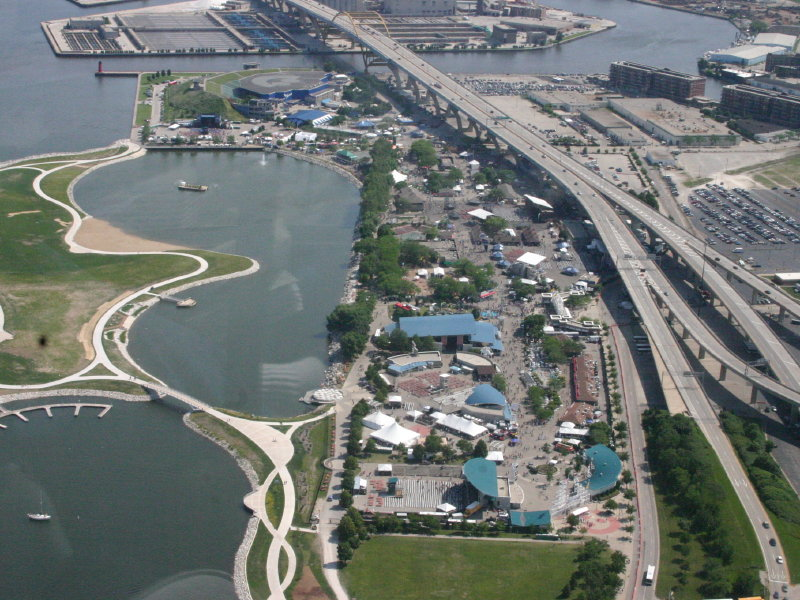 summerfest grounds aerial
