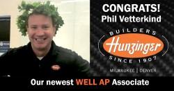 Vetterkind earns WELL AP Accreditation