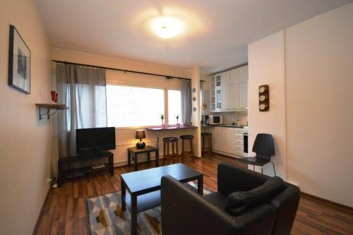 Kalustettu asunto | Olohuone | Lähderanta 22, Espoo