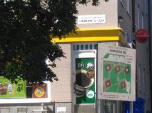 r-kioski hameentie 152 Helsinki