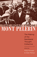 Cover: The Road from Mont Pèlerin in HARDCOVER