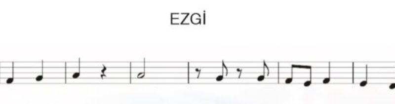 Sayfa 23 Ezgi 5. Sınıf Müzik Dersi Kitabı Melodika ile Çalınışı