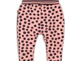 35C-34273 Baby trousers Light coral + aop