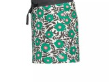 MT skirt AOP flower Green