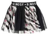 Girls zebra printed netting skirt AO Zebra