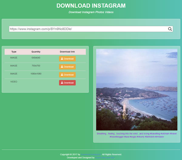 Download Instagram Photos and Videos easily with