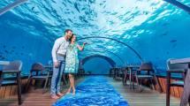 Maldives Islands Underwater Restaurant