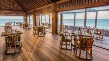 Restaurant in Maldives Resort