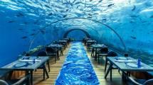 5.8 Undersea Restaurant Maldives Underwater