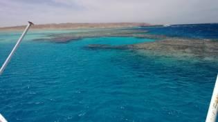 Blick aufs Riff - hurghada