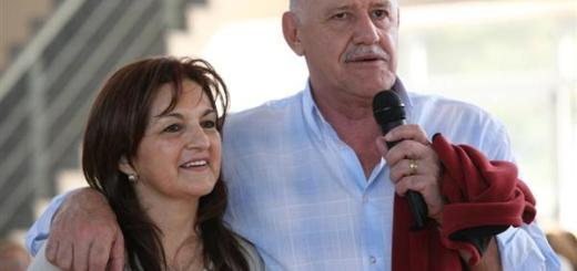 María Azucena Ehcosor y Luis Acuña