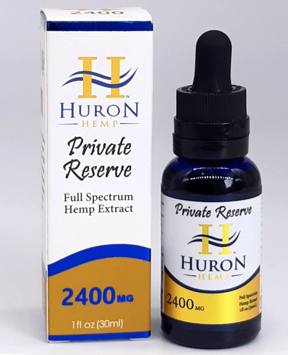 Private Reserve Full Spectrum CBD Oil 2400mg
