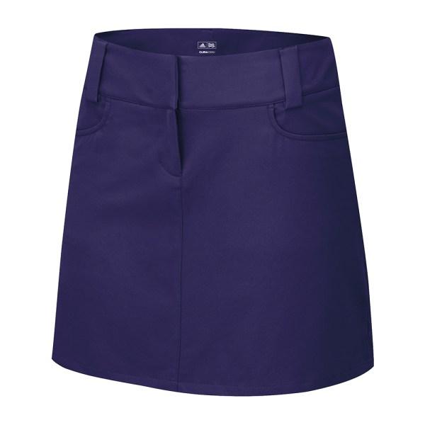Women' Adidas Golf Climacool 3-stripes Skort Mesh