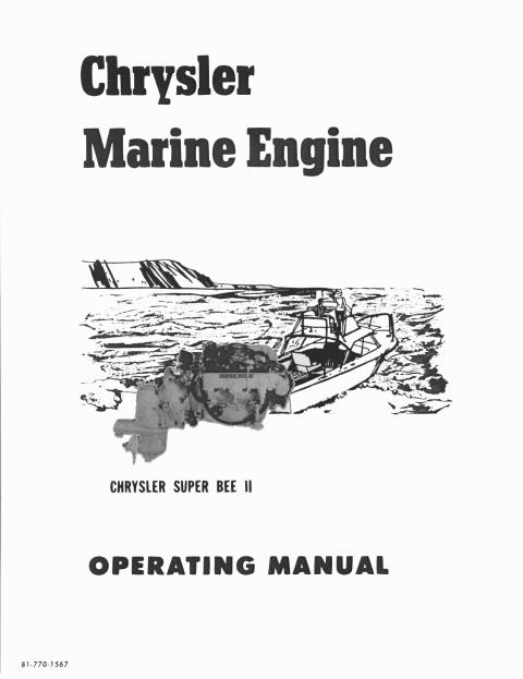 Operating Manuals