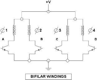 4 Wire Stepper Motor Diagram Phase Stepper Motor Diagram