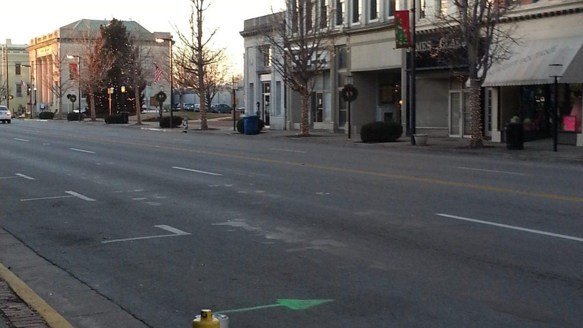 Image of Main Street in Danville, KY