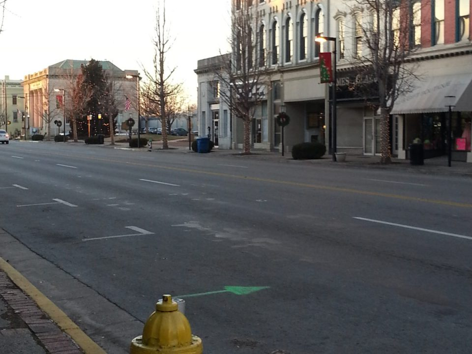 Image of Main Street in Danville, KY