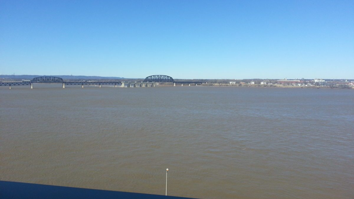The view from the training center in Louisville, KY