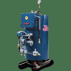 Oil Burner Wiring Diagram Nissan Titan Trailer Four Pass High-pressure Vertical Tubeless Boilers | 4vt Cyclone Steam| Hurst Boiler