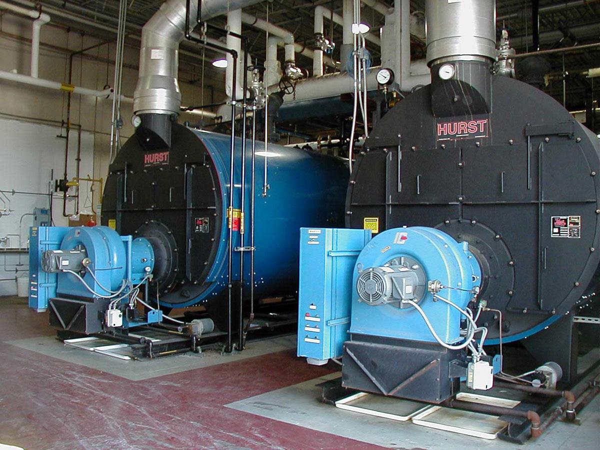 Scotch Marine Boiler  Three Pass Dryback  Series 300