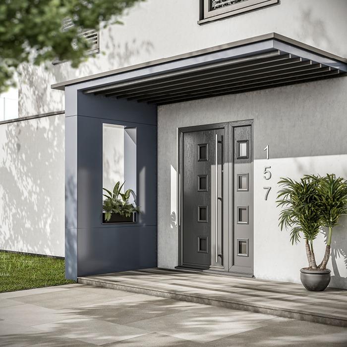 Grp Composite Front Back Exterior Doors Hurst Doors